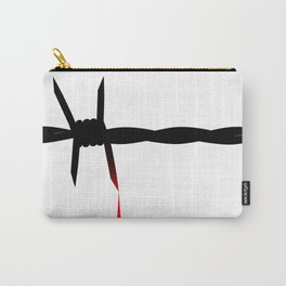 Blooded Barbed Wire Carry-All Pouch