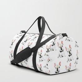 Little Gentleman French Buldog Duffle Bag
