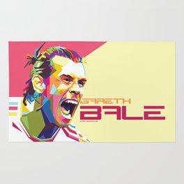Gareth Bale WPAP #4 Rug