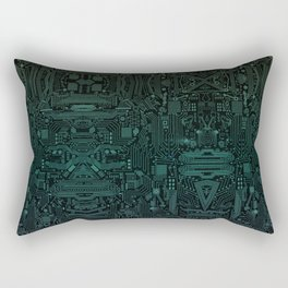 Circuitry Details Rectangular Pillow
