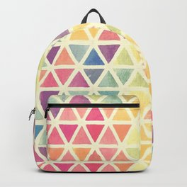 TRIANGLE--COLOR Backpack