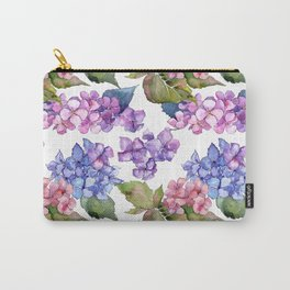 Hydrangea Pattern 03 Carry-All Pouch