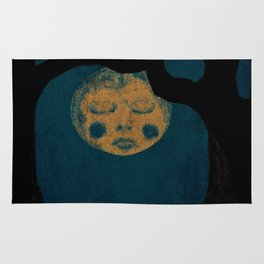 Moon With The Blues Rug