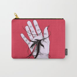 Disturbing Itch - Hand Biting Flower Monster Carry-All Pouch