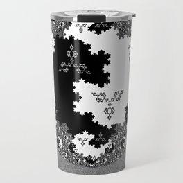 Fractal Taijitu Travel Mug