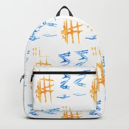 Donovan Print Backpack