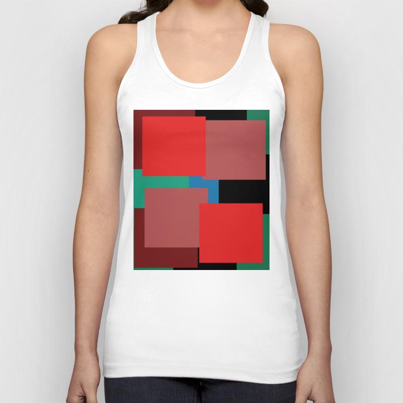 Colourblock By Definition Tank by Basicdesignsdanmark TNK8850017
