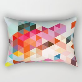 Heavy words 01. Rectangular Pillow
