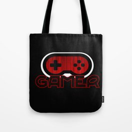 Red Gamer Tote Bag