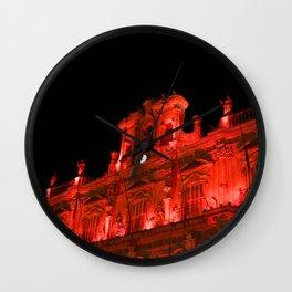 Plaza Mayor Wall Clock
