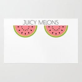 Juicy Melons Rug
