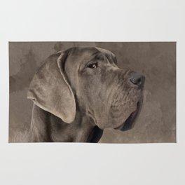 Great Dane  -Deutsche Dogge Rug