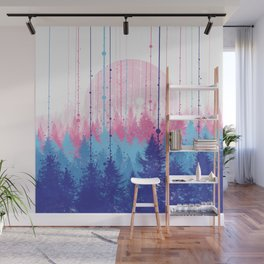 rainy forest 2 Wall Mural