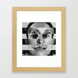 Gala x Dali Framed Art Print