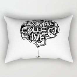 Animal Collective Rectangular Pillow
