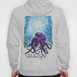 Purple Octopus - Atticus quote Hoody
