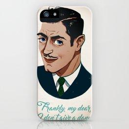 Clark Gable iPhone Case