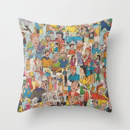 Archie Comics Collage #2 Throw Pillow