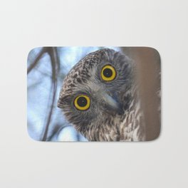 Australian Powerful Owl Bath Mat