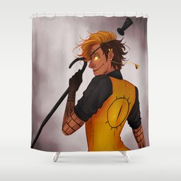 CRAZY=GENIUS Shower Curtain