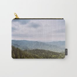 Blue Smoke Mountains Carry-All Pouch