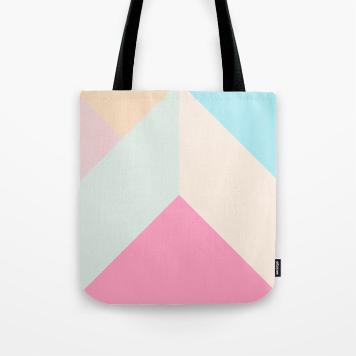 Ultra Geometric V Tote Bag