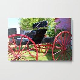 Country Limo Metal Print