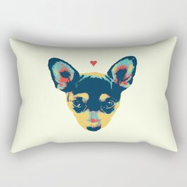 Pet Thoughts Rectangular Pillow