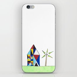 House in The Tropics iPhone Skin