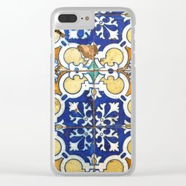 Tiles Clear iPhone Case