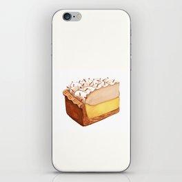 Coconut Cream Pie Slice iPhone Skin