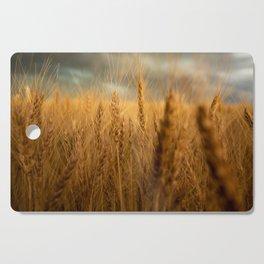 Harvest Time - Golden Wheat in Colorado Field Cutting Board