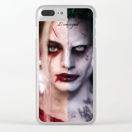 Harley&Joker Clear iPhone Case