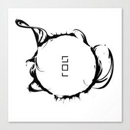 Solar Storm // SUN Canvas Print