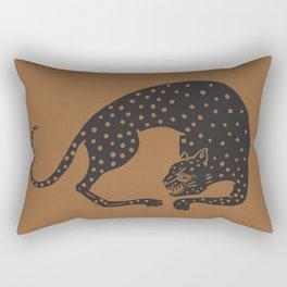 Blockprint Cheetah Rectangular Pillow