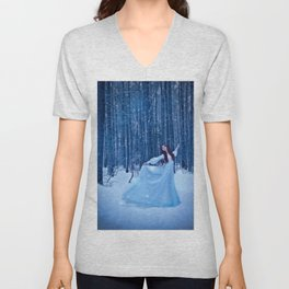 Snow Dancing Unisex V-Neck