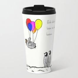 To be a Flying Penguin Travel Mug