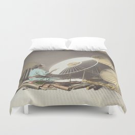 Umbrella Maker Duvet Cover