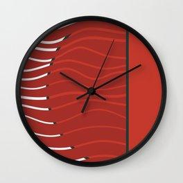 Japan sunset on Uranus Wall Clock