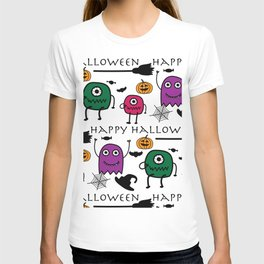 Monsters Halloween T-shirt