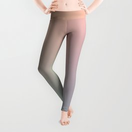 HOLOGRAPHIC - Minimal Plain Soft Mood Color Blend Prints Leggings