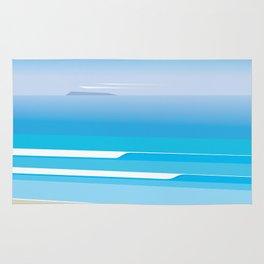 Sunny Beach — View from Omanu Beach Rug