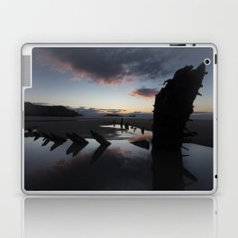 Sunset over the Helvetia at Rhossili Bay Laptop & iPad Skin