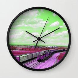 Train Spot 4 Wall Clock