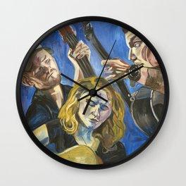The Dead Horses Wall Clock