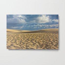 on the dune Metal Print
