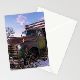 Abandoned Farm Truck Stationery Cards
