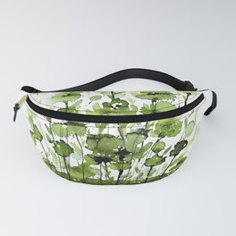Floral Charm No.1I by Kathy Morton Stanion Fanny Pack