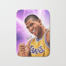 EARVING MAGIC JOHNSON Bath Mat