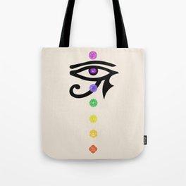Chakra and horus Tote Bag